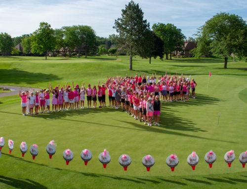 Pink Par-Tee golf 5