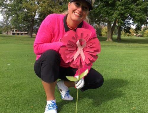 Pink Par-Tee golf 4