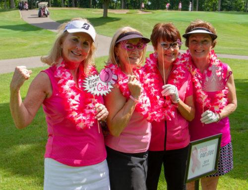 Pink Par-Tee golf 2