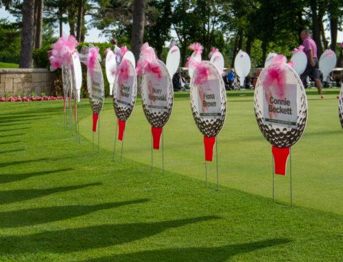 Pink Par-Tee golf 3