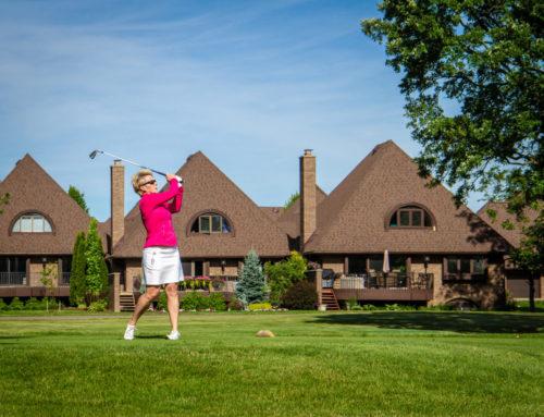 Pink Par-Tee golf 1